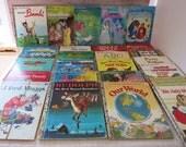 26 Little Golden Books, Vintage Little Golden Books, 1950s-1990s Set of Childrens Books, Vintage Childrens Books Little Golden Books -V330B