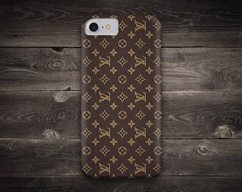 Louis Vuitton Pattern Iphone 7 case - Iphone 7 Plus Case - Iphone 6s case - Iphone 6 plus case - Iphone 5s Case - Galaxy S7 Case - S8 Case