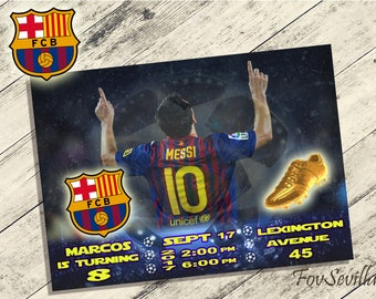 messi invitation,messi birthday invitation,barcelona invitation,barcelona birthday invitation,leo messi invitation,leo messi birthday,messi