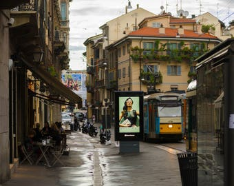 Milan streets Italy photography