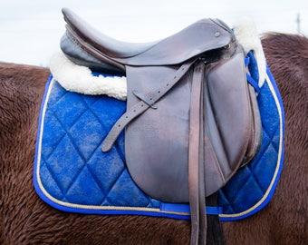 Royal horse saddle pad and half pad set