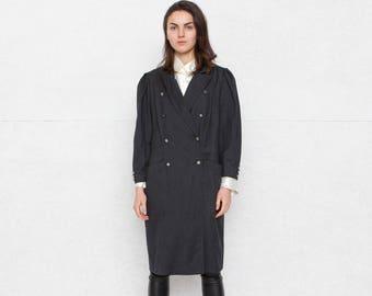 Vintage Grey Mini Dress/ Size 42 or Large
