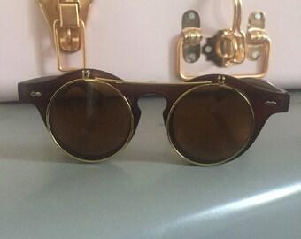 Unisex Vintage Style Sunglasses