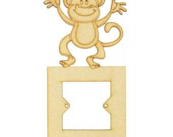 Animal light switch, animal light surround, owl light surround, monkey light surround, unicorn light surround, rabbit light surround