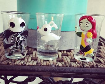 Nightmare Before Christmas-Shotglasses