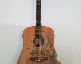 Custom Designed Acoustic Guitar