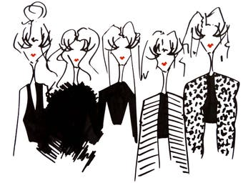 Illustration: Girl squad