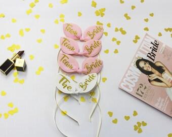 Bunny ears, Bachelorette Party, Bridal Tiara, Party Headband, Bridesmaid, Maid of Honor, Bride To Be,