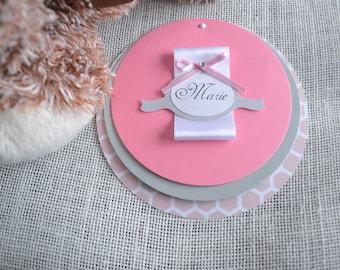 Classic pink invitation