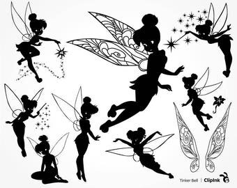 Tinkerbell svg, Tinkerbell clipart, Tinker Bell svg Disney files silhouette, digital – svg eps png dxf pdf. Fabric Cut Print Mug Shirt Decal