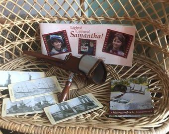 Vintage American Girl Samantha  stereoscope Set