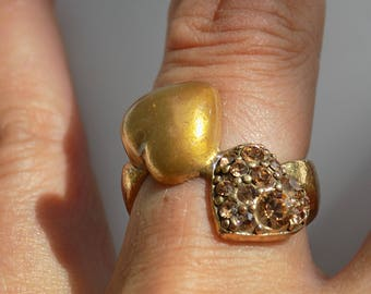Vintage Pilgrim Ring | Loveheart ring | jewellery| jewelry