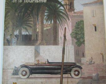 L'illustration L'Automobile et le Tourisme Octobre 1933