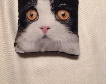 Catnip Pillow, Handsewn