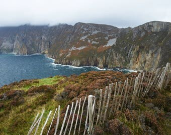 Over the Edge in Ireland, travel print, wall art, fine art print