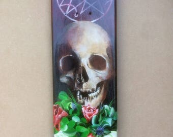 Necronomicon - Skateboard Deck