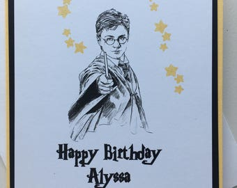 PERSONALIZED Harry Potter Birthday