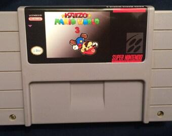 Kaizo Mario World 3 SNES Game
