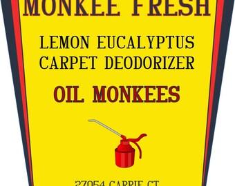 Monkee Fresh Lemon Eucalyptus Carpet Deodorizer