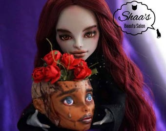 OOAK Monster High Doll CAM Mummy / Repaint & Costume