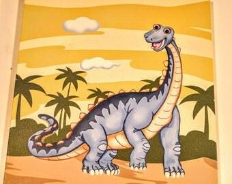 Blue Dinosaur Picture