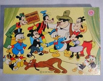 Disney vintage carousel stamp set