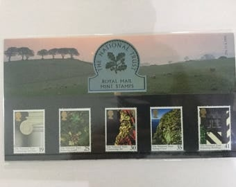 The National Trust Royal Mail Mint Stamps Presentation Pack 1995