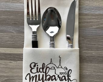Eid Dinner Napkins Set of 4
