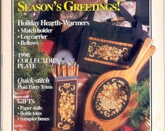 Cross Stitch & Country Crafts -Nov./Dec., 1990