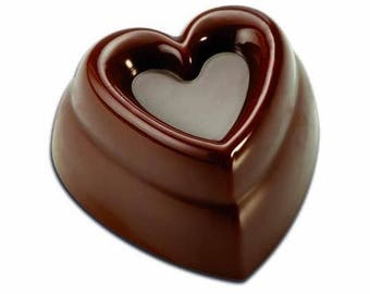 Polycarbonate Chocolate Mould- Heart