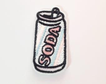Soda patch Soda Can applique patch