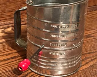 Vintage Bromwell's Measuring Sifter