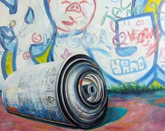 LANDSCAPE urban VI - Painting street art