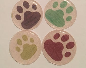 Magnet / Paw Print Magnet