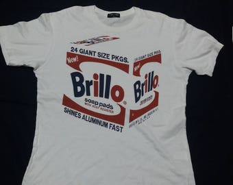 Andy warhol brillo shirt