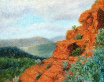 Sedona Arizona oil painting