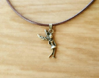 Necklace chain fairy Elf forest