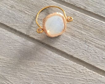 Gold tone ring size XS/S