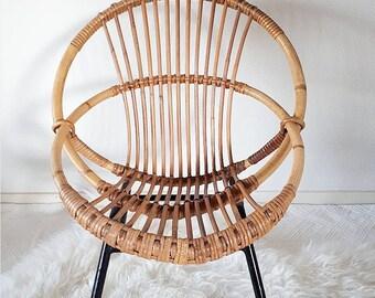 Rattan Chair for Kids designed by Dirk van Sliedregt
