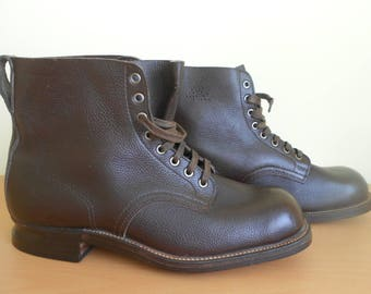 military Swedish boots shoes 1942