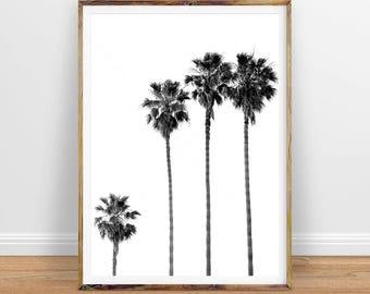 Palm Tree Wall Art pineapple print pineapple wall art pineapple poster
