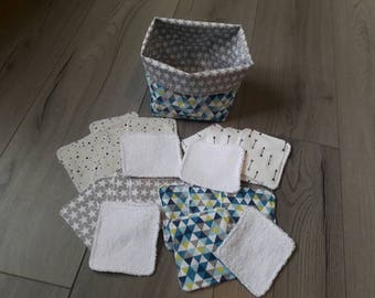 Basket and wipes