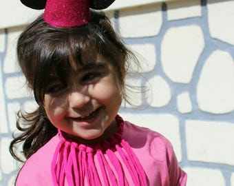 Headband Minnie glitter headband accessories ideal sparkle birthday hat or photo shoots