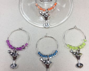 Martini Wine Charms