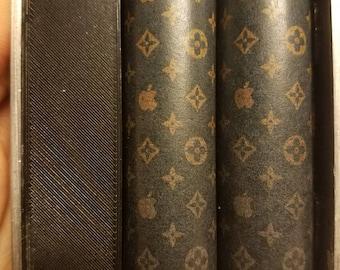 One Pair of 18650 Custom Battery Wraps - Designer Apple
