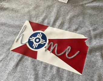 Home Wichita Flag Shirt
