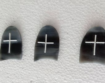 Fused Glass Tombstone