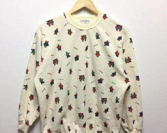 Rare!! Bear sweatshirt