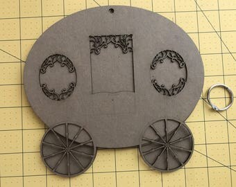 Carriage Mini Photo Album Scrapbook