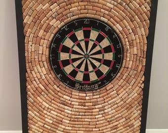 "Wine Cork Dart Board 32.5"" by 48"" - Game Room/Man Cave dartboard"